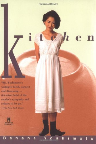 Kitchen 9780671880187 Two stories,  Kitchen  and  Moonlight Shadow,  told through the eyes of a pair of contemporary young Japanese women, deal with the themes of mothers, love, transsexuality, kitchens, and tragedy. Reprint. NYT.