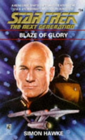 9780671880453: Blaze of Glory (Star Trek The Next Generation, No 34)