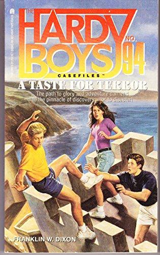 9780671882051: A Taste for Terror (Hardy Boys Casefiles No. 94)