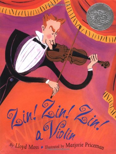 9780671882396: Zin! Zin! Zin! a Violin (Caldecott Honor Book)