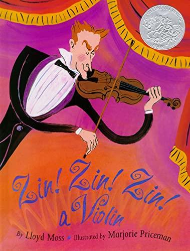 9780671882396: Zin! Zin! Zin! A Violin (Caldecott Honor Book)