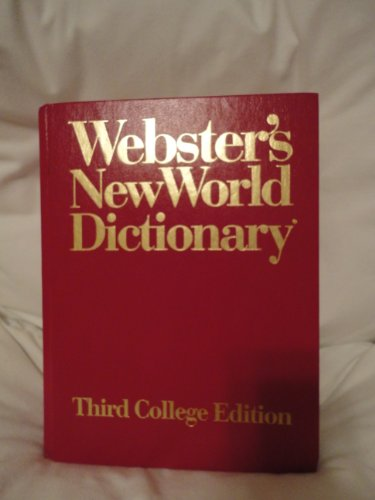 9780671882433: Webster's New World Dictionary of American English/1994/College Edition