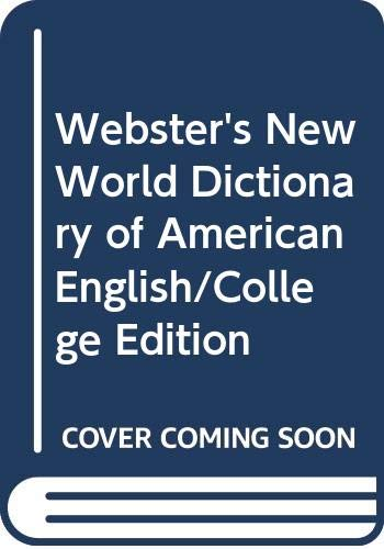 9780671882891: Webster's New World Dictionary of American English: College Edition