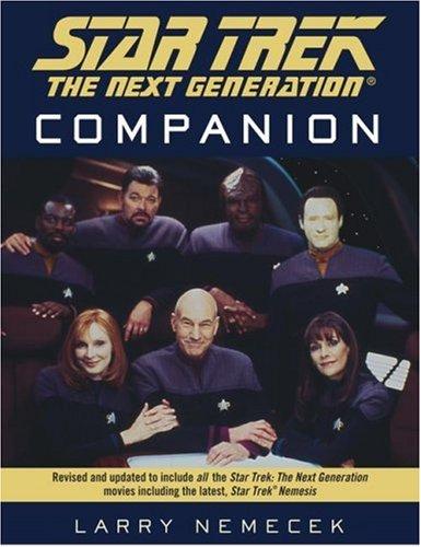 9780671883409: The Star Trek The Next Generation Companion