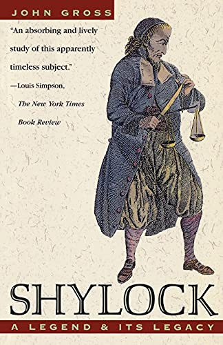 9780671883867: Shylock: A Legend and Its Legacy