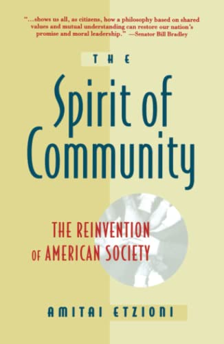 9780671885243: Spirit Of Community