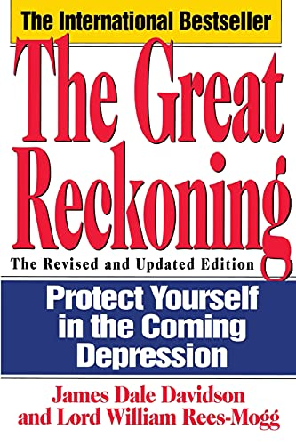 9780671885281: The Great Reckoning: Protecting Yourself in the Coming Depression