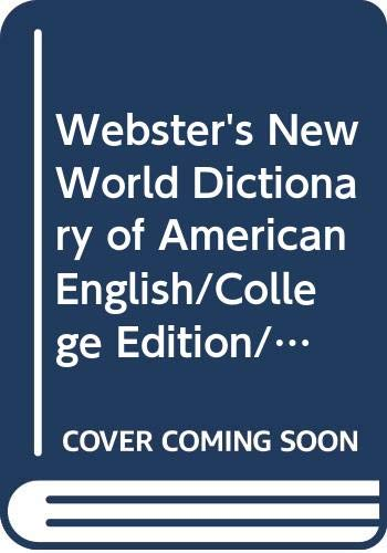 9780671885724: Webster's New World Dictionary of American English/College Edition/Leatherkraft