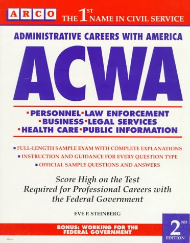 9780671885731: ACWA: Administrative Careers With America (Arco Civil Service Test Tutor)