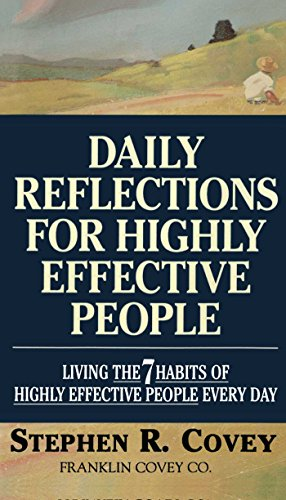9780671887179: Daily Reflections for Highly Effective People: Living the Seven Habits of Highly Successful People Every Day: Living the