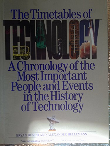 9780671887674: Timetables of Technology: A Chronology of the Most Important People and Events in the History of Technology
