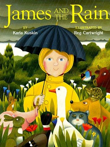 9780671888084: James and the Rain