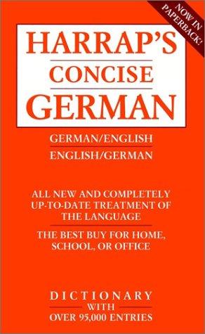 9780671888091: Harrap's Concise English-German Dictionary