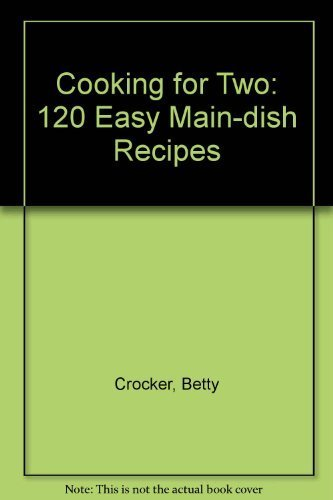 9780671888275: Betty Crocker's Cooking for Two