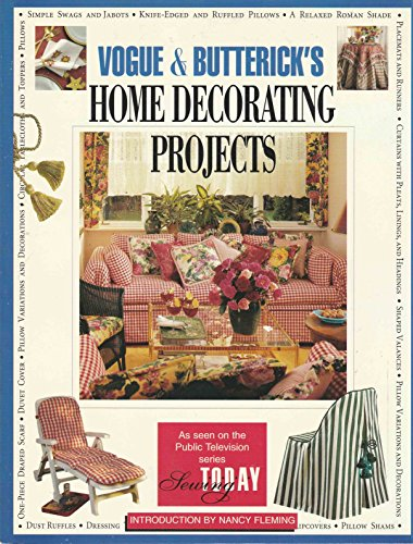 9780671888770: Vogue & Butterick's: Home Decorating Projects