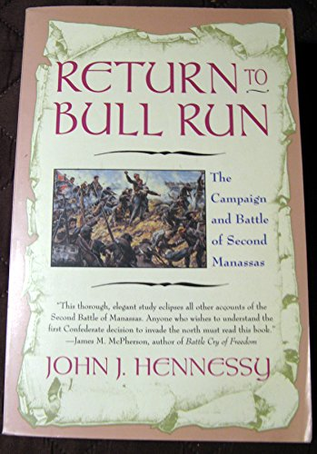 9780671889890: Return to Bull Run: The Second Campaign and Battle of Manassas