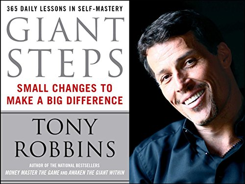 "9780671891046: Giant Steps: Small Changes to Make a Big Difference: Daily Lessons in Self-mastery from ""Awaken the Giant Within"""