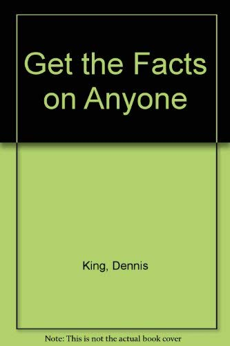 9780671893019: Get the Facts on Anyone