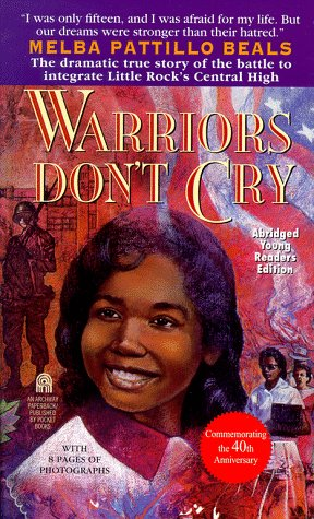 an analysis of warriors dont cry by melba pattillo beals Warriors don't cry is a memoir by melba patillo beals that was first published in 1994 here's where you'll find analysis about the book as a whole, from the major themes and ideas to analysis of style, tone, point of view, and more.