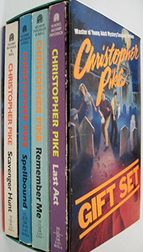 9780671922498: Christopher Pike Gift Set: Spellbound/Last Act/Remember Me/Scavenger Hunt