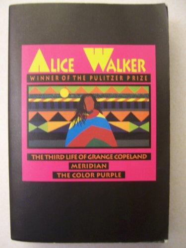 9780671922542: Alice Walker: Color Purple/Meridian/the Third Life of Grange Copeland