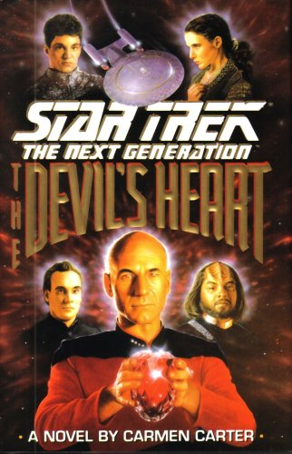 9780671975364: THE DEVIL'S HEART [STAR TREK THE NEXT GENERATION] BY CARMEN CARTER