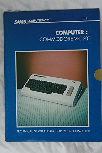 9780672089039: Computer Cc-3 Commodore Vic-20 (Sams Computerfacts Series)
