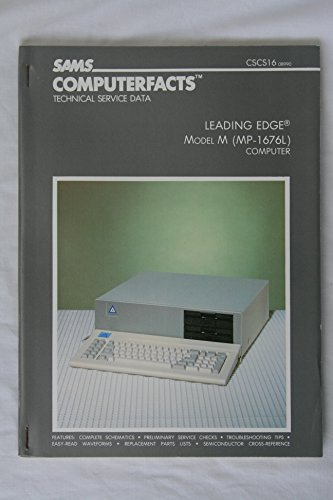 9780672089909: Leading Edge Model m (Mp1676L) Computer/Disk Drive/Book (Computerfacts Series)