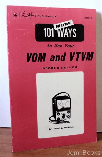 9780672205101: One Hundred and One Ways to Use Your V. O. M. and V. T. V. M.