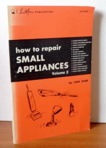 9780672205248: How to Repair Small Appliances (Volume 2)