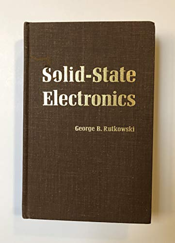 9780672208010: Solid-State Electronics