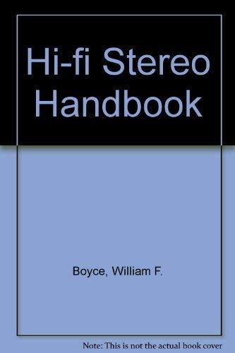 9780672209185: Hi-fi Stereo Handbook