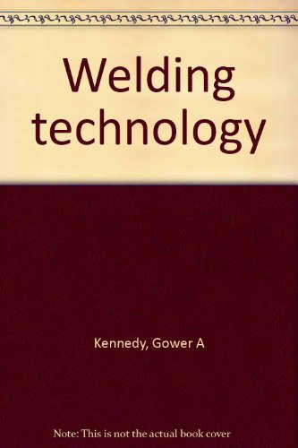 9780672209468: Welding technology
