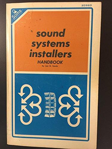 9780672209802: Sound Systems Installer's Handbook