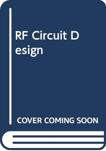 RF Circuit Design: Christopher J. Bowick