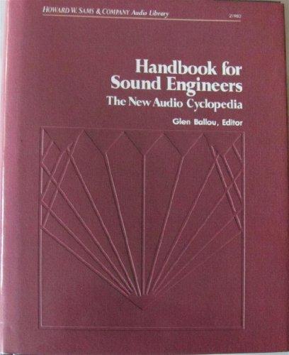 9780672219832: Handbook for Sound Engineers: The New Audio Cyclopedia