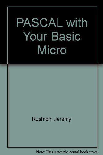9780672220364: Pascal with your BASIC micro