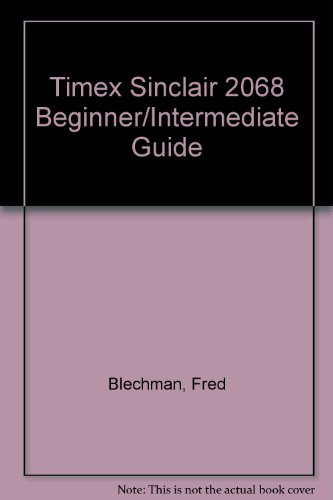 9780672222252: Timex Sinclair 2068 Beginner/Intermediate Guide