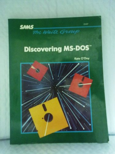 9780672224072: Discovering MS-DOS