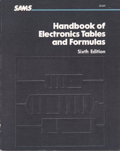 9780672224690: Handbook of Electronics Tables and Formulas