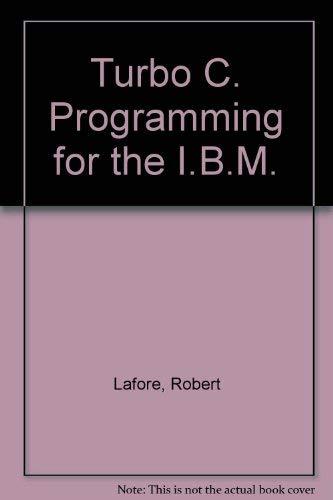 9780672226144: Turbo C Programming for the IBM