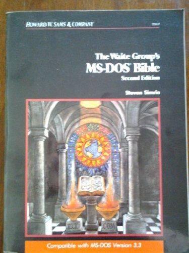 9780672226175: MS-DOS Bible