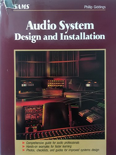 9780672226724: Audio System Design and Installation