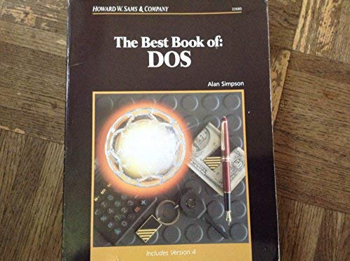 9780672226809: Best Book of: DOS