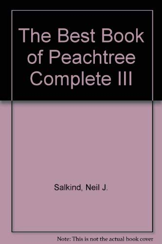 9780672227431: The Best Book of Peachtree Complete III