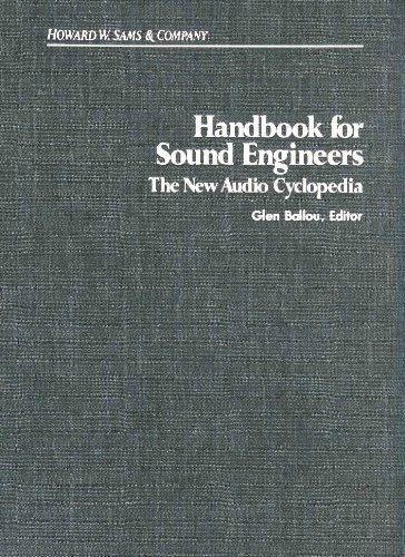 9780672227523: Handbook for Sound Engineers: The New Audio Cyclopedia