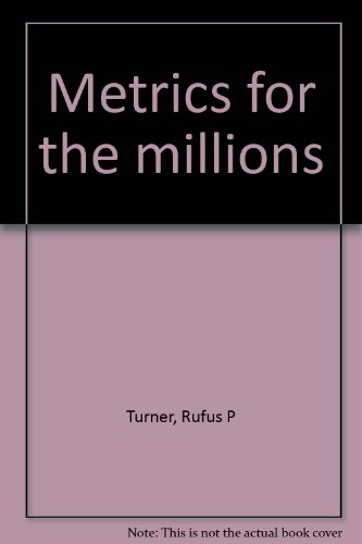 Metrics for the millions (0672228246) by Rufus P Turner