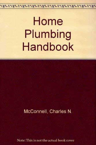 9780672232398: Home Plumbing Handbook