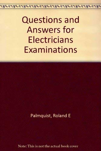 9780672233074: Questions and Answers for Electricians Examinations