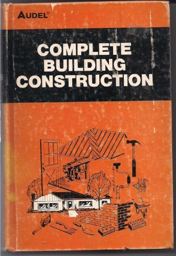 9780672233234: Complete Building Construction